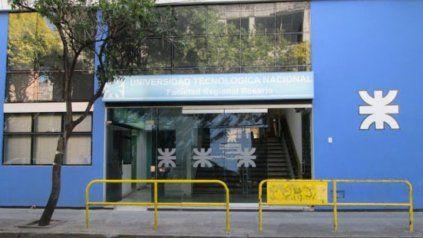 La sede local de la UTN, de calle Zeballos al 1300.