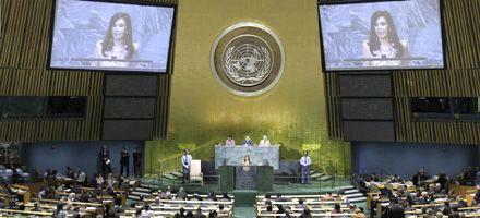 Cristina reclamó en la ONU una reforma de los organismos multilaterales