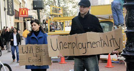 Los jóvenes recién recibidos son la nueva cara del desempleo en EEUU