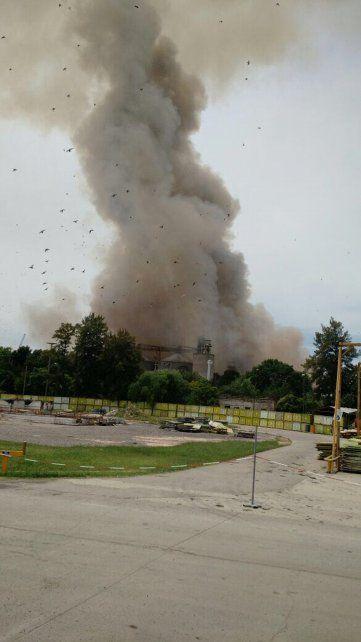 No sabemos por qué explotó, dijo el intendente de Puerto General San Martín