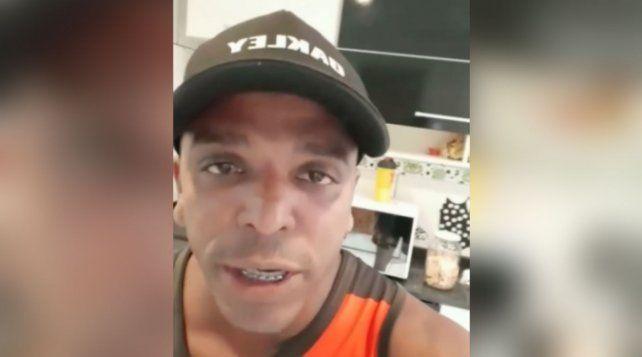 Robertinho do Gelo se lanzó como candidato e hizo campaña