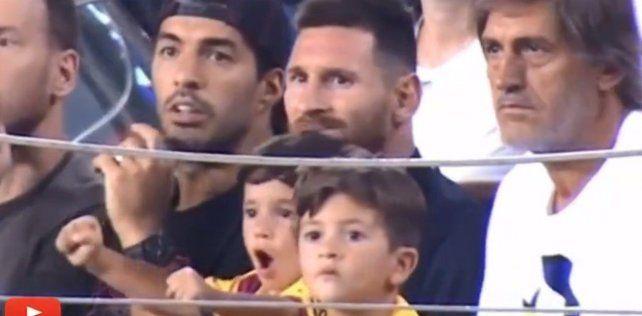 Mateo Messi, la otra estrella mediática de la familia