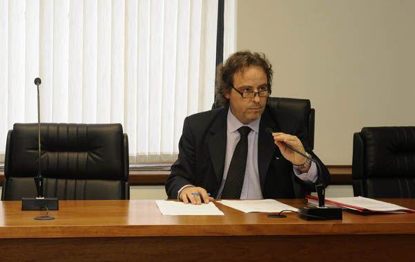 Señor juez. Javier Beltramone escuchó a las partes y resolvió el primer caso bajo el nuevo sistema penal.