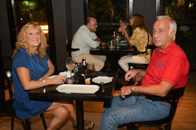 Silvana y Esteban Moine