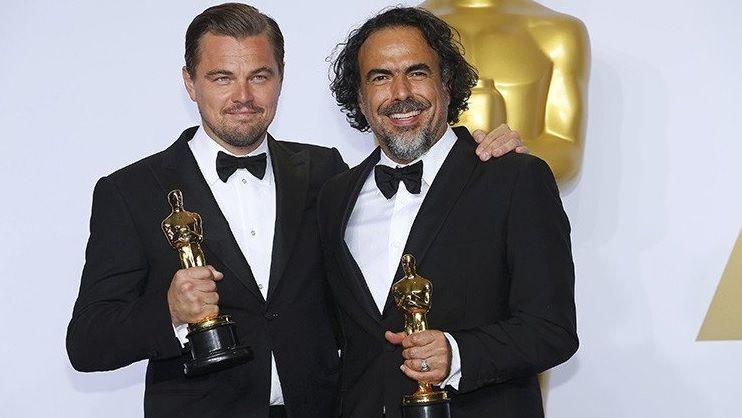 DiCaprio ganó como mejor actor y González Iñarritu como mejor director por El renacido