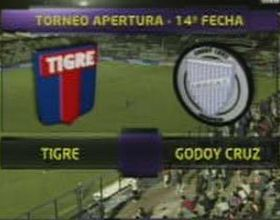 Tigre le ganó a Godoy Cruz