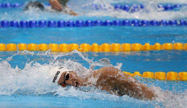 Con confianza. El nadador santafesino competirá en una prueba en la que aspira poder meterse en la final.