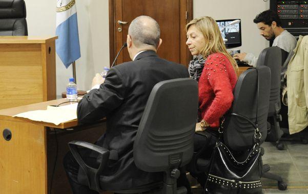 Fiscal. Cristina Rubiolo estuvo a cargo de leer las comprometedoras escuchas.