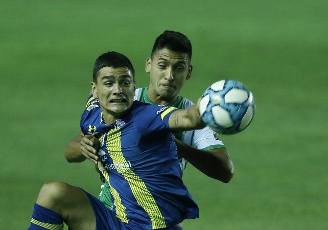 Martínez Dupuy ya había jugado, pero esta vez fue desde el arranque.