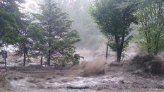 temporal en el valle de punilla: la falda, huerta grande y villa giardino, las mas afectadas