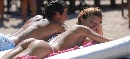 Sigue el sol en la costa y llegan más turistas a las playas argentinas