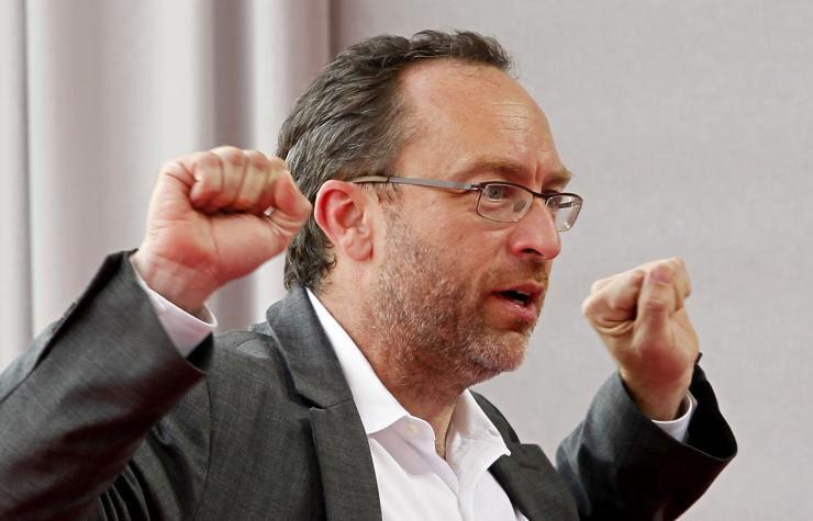 """Optimista. Jimmy Wales está convencido de que lo que viene """"será increíble""""."""