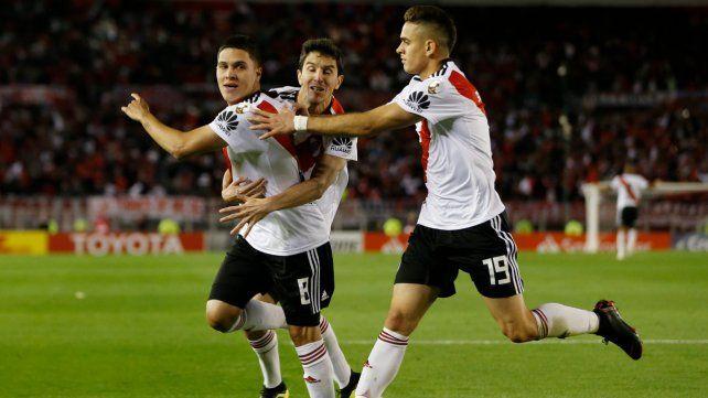 La clasificación. El partido estaba 1-1 y pasaba el rojo hasta que apareció Quintero.