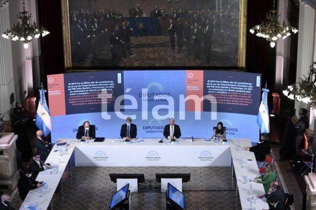 Guzmán defendió el presupuesto: Es un ancla en la transición