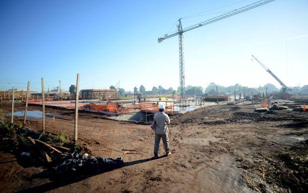 Los trabajos se están ejecutando en un predio ubicado en Granadero Baigorria.