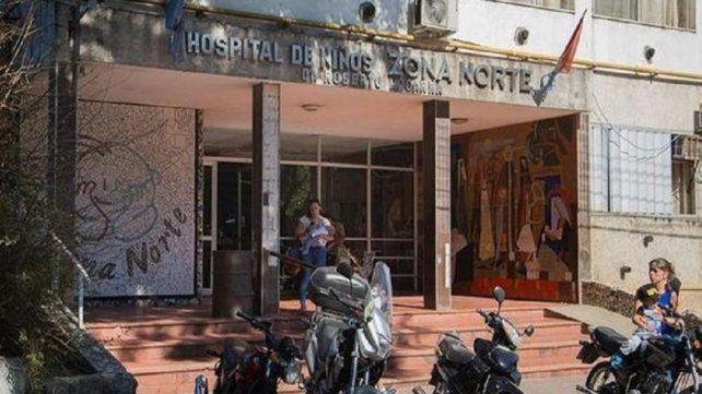 El chico recibió un impacto de bala en la pierna izquierda y fue urgentemente trasladado al Hospital de Niños Zona Norte.