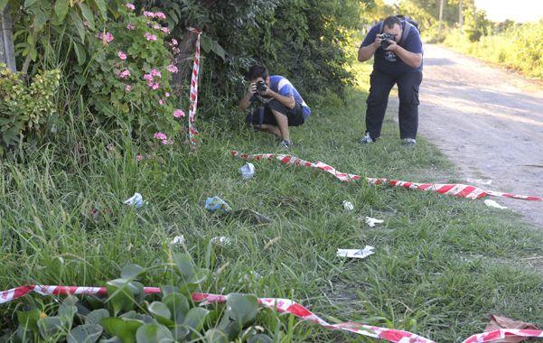El lugar donde mataron al padre de Norma Acosta el 19 de diciembre. (E.Rodríguez)