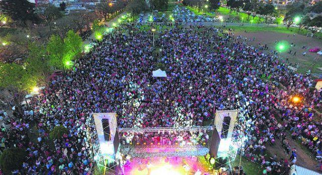 Unas 15 mil personas. En la elección del representante del sur provincial.