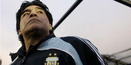 Maradona está considerado entre los peores entrenadores de selecciones