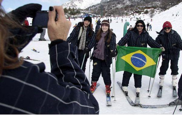 Cosmopolita. Si bien los turistas brasileños son legión