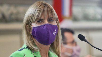 La vicegobernadora Alejandra Rodenas.
