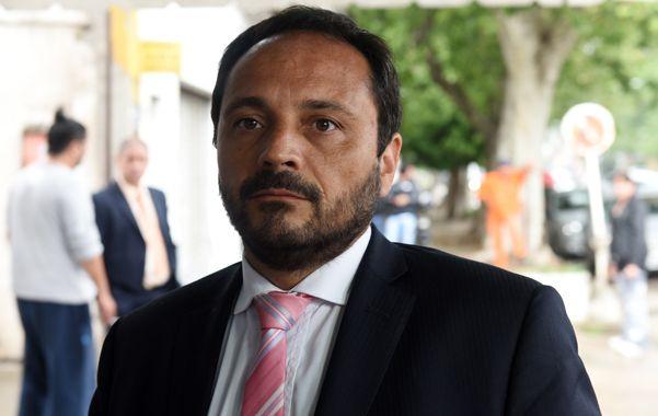 audiencia. El fiscal de Homicidios Adrián Spelta imputó ayer a Lucas Matías M. (Celina Mutti Lovera)