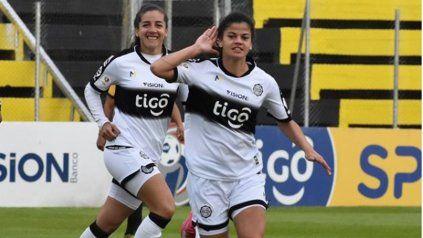 Dahiana Bogarín, figura de Olimpia y de la selección paraguaya.