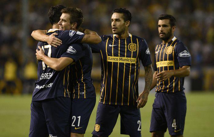 Central goleó a River de Montevideo . (Sebastián Suárez Meccia / La Capital)