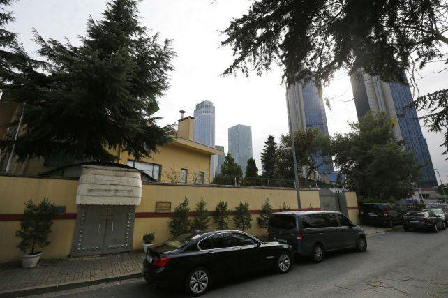 Conmoción. La legación consular saudita en Estambul donde ingresó Jamal Khashoggi