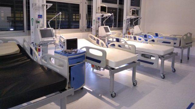 El Hospital Gutiérrez reconvirtió su quirófano y sumó diez camas Covid a Venado Tuerto