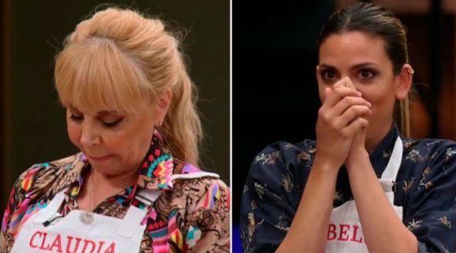La cara de fastidio de Claudia Villafañe después de la decisión de Lucius lo dice todo.