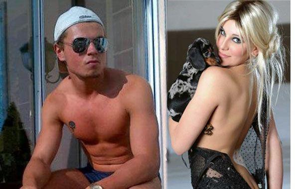 El novio de Charlotte Caniggia está de visita en Buenos Aires