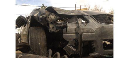 Tres heridos en espectacular choque en el puente Rosario-Victoria