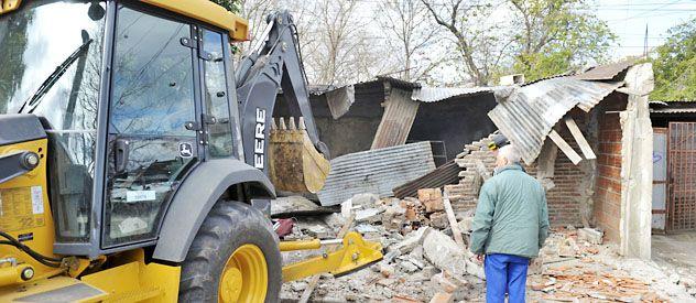 Todo quedó reducido a escombros en el búnker de Ayacucho 3800.