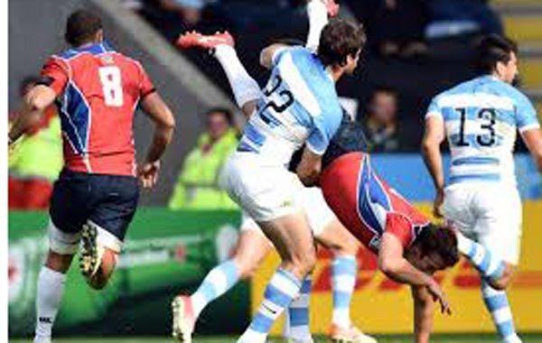 Bosch podría ser baja para Los Pumas en los cuartos de final del Mundial de Rugby