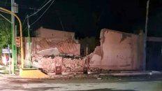 El terremoto fue de 6,4 puntos en la escala de Ritcher y causó daños materiales en San Juan.