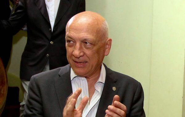 Bonfatti criticó al Estado nacional pero dejó a salvo la figura de Florencio Randazzo.