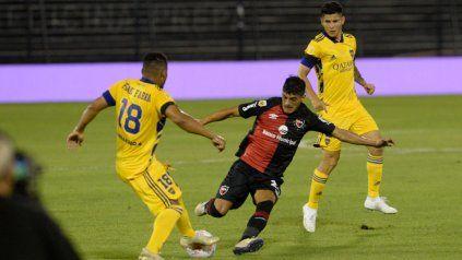 Rivero jugó ante Boca uno de sus tres únicos partidos del semestre. Con Gamboa, la chance era mínima.