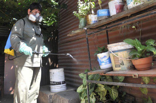 El municipio lleva adelante tareas para la prevención del dengue en Roasrio.