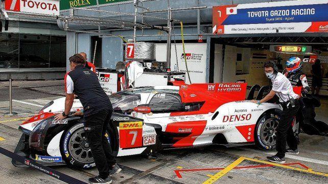 José Pechito López comenzó de la mejor manera el fin de semana en Monza.