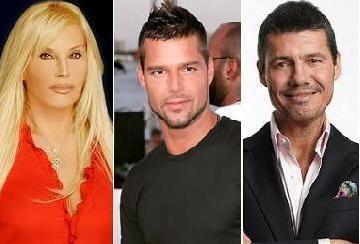 Susana Giménez le ganó a Marcelo Tinelli y se quedó con Ricky Martin