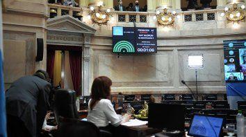El Presupuesto fue aprobado por 45 votos del FTD, con 23 abstenciones, dos en contra y 3 a favor del proyecto general y en contra de algunos artículos desde la bancada de Juntos por el Cambio.