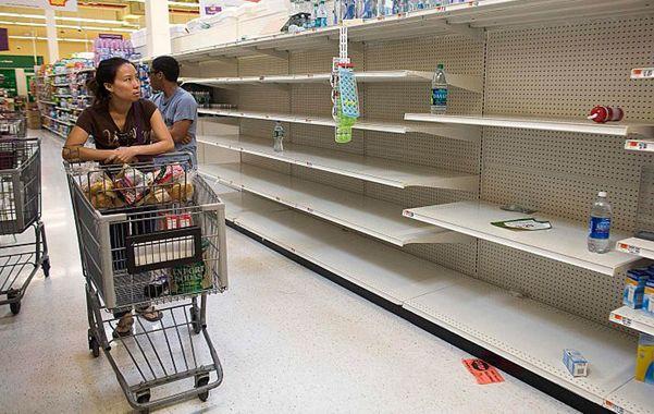 Falta de todo. Los comercios venezolanos sufren una grave escasez de productos de primera necesidad.