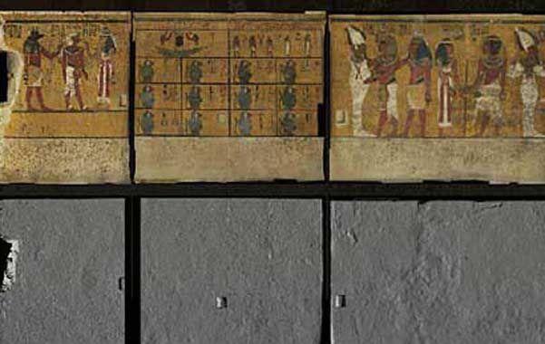 La prueba. Fotos de alta resolución de las paredes de la cripta.