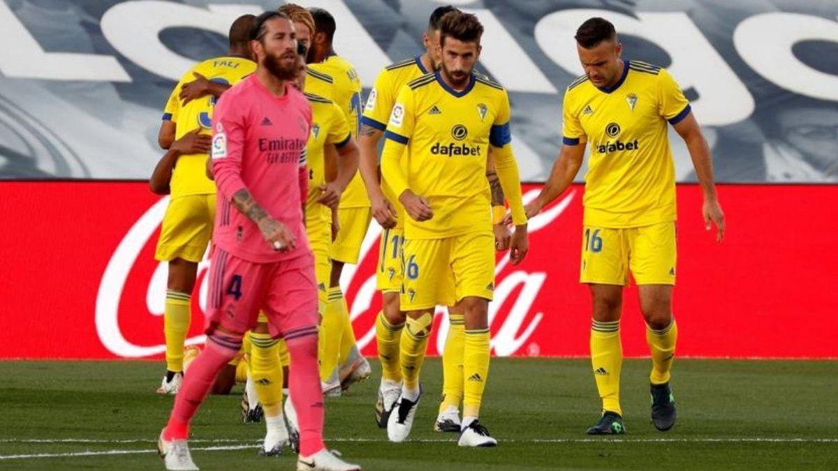 Real Madrid cayó como local ante el Cádiz