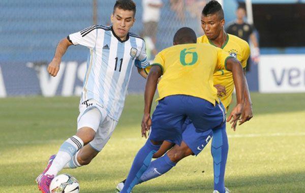 El rosarino Angel Correa es el capitán y una de las figuras del equipo albiceleste.