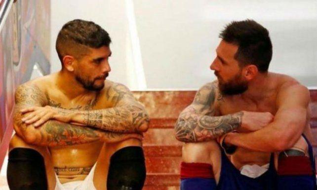 Messi v. Banega, el duelo de leprosos en España