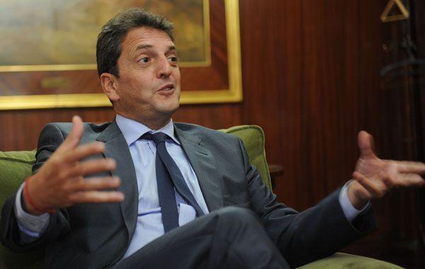 Sergio Massa destacó que su municipio tiene más de mil cámaras y un móvil cada 9 mil habitantes las 24 horas.
