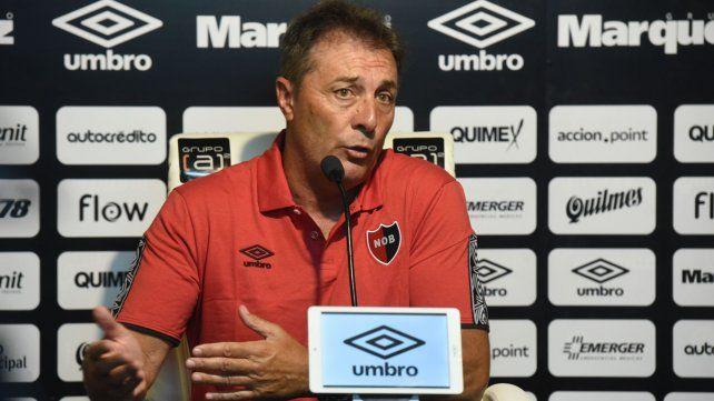 Kudelka dijo que el equipo no está encontramos presión alta y esa agresividad que teníamos con Palacios y Leal.
