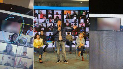 Escándalo: hackearon el zoom del gobernador de Entre Ríos con escenas sexuales